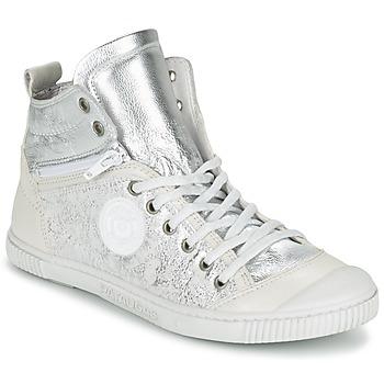 Skor Dam Höga sneakers Pataugas BANJOU/MT F2C Silver