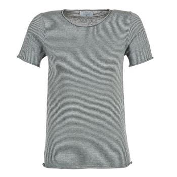 textil Dam T-shirts Casual Attitude GENIUS Grå