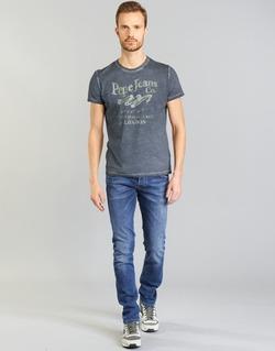 textil Herr Raka byxor Pepe jeans TRACK Blå / N45
