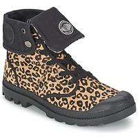Skor Dam Boots Palladium BAGGY PN Leopard