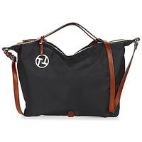 Väskor Dam Handväskor med kort rem Texier T&T Svart