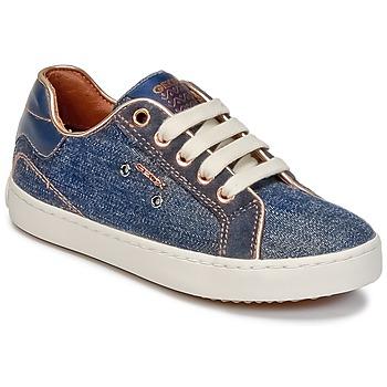 Skor Flickor Höga sneakers Geox J KIWI G. B Denim