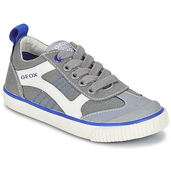 Skor Pojk Sneakers Geox J KIWI B. J Grå