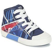 Skor Pojk Höga sneakers Geox J KIWI B. E Marin