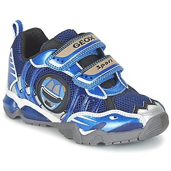Skor Pojk Sneakers Geox J SHUTTLE B. B Marin