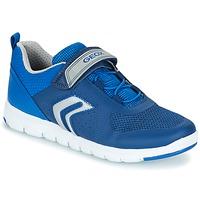 Skor Pojk Sneakers Geox J XUNDAY B. B Marin