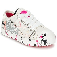 Skor Barn Sneakers Geox J CIAK G. D Vit / Rosa