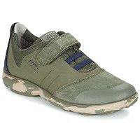 Skor Barn Sneakers Geox J NEBULA B. A Kamouflage