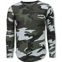 textil Herr T-shirts Justing  Grön