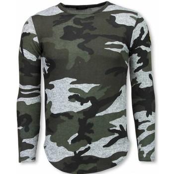 textil Herr T-shirts Justing  Grå