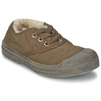 Skor Barn Sneakers Bensimon TENNIS FOURREES Brun