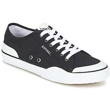Skor Herr Sneakers Kaporal BUCKET Svart