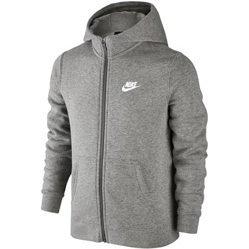 textil Barn Sweatshirts Nike SW Hoodie FZ Club Junior 805499-063 Grey