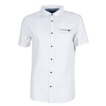 textil Herr Kortärmade skjortor Rip Curl STARDUST Vit