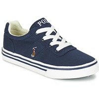 Skor Pojk Sneakers Ralph Lauren HANFORD Marin