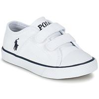 Skor Barn Sneakers Ralph Lauren DYLAND EZ Vit