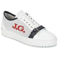 Skor Herr Sneakers John Galliano 2477CA Vit