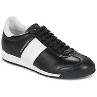 Skor Herr Sneakers Roberto Cavalli 2042A Svart / Vit