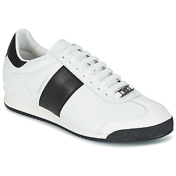 Skor Herr Sneakers Roberto Cavalli 2042C Vit / Svart