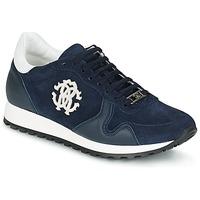 Skor Herr Sneakers Roberto Cavalli 2058A Marin
