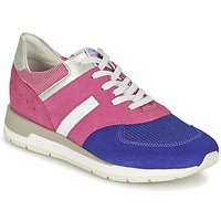 Skor Dam Sneakers Geox SHAHIRA A Rosa / Violett