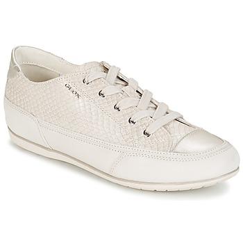 Skor Dam Sneakers Geox NEW MOENA Vit