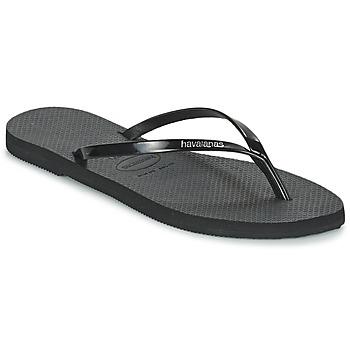 Skor Dam Flip-flops Havaianas YOU METALLIC Svart