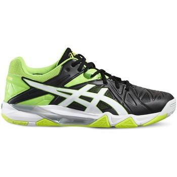 Skor Herr Sneakers Asics Gelsensei 6 Vit, Svarta, Celadon