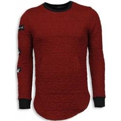 textil Herr Sweatshirts Justing D Numbered Pocket Long Fit TR Bordeaux