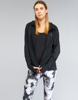textil Dam Sweatshirts Puma TRANSITION JKT Svart