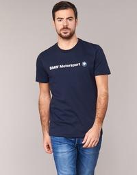 textil Herr T-shirts Puma BMW MSP LOGO TEE Marin