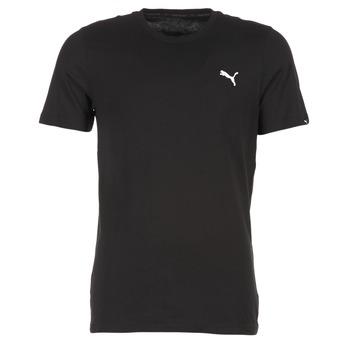 textil Herr T-shirts Puma ESS TEE Svart