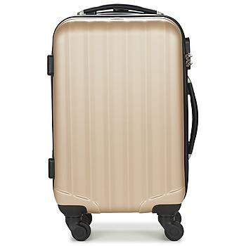 Väskor Hårda resväskor David Jones CHAUVETTA Guldfärgad