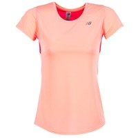textil Dam T-shirts New Balance ACCELERATE T Korall
