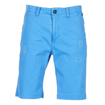 textil Herr Shorts / Bermudas Petrol Industries CHINO Blå
