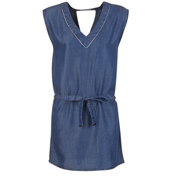 textil Dam Korta klänningar Les P'tites Bombes GUELOFI Blå
