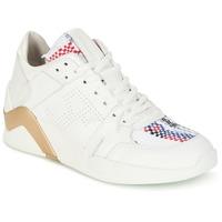 Skor Dam Höga sneakers Serafini CHICAGO Vit / Guldfärgad
