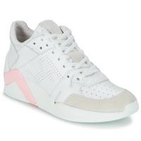 Skor Dam Höga sneakers Serafini CHICAGO Vit / Rosa