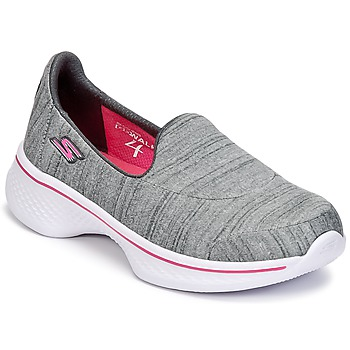 Skor Flick Slip-on-skor Skechers GO WALK 4 Grå