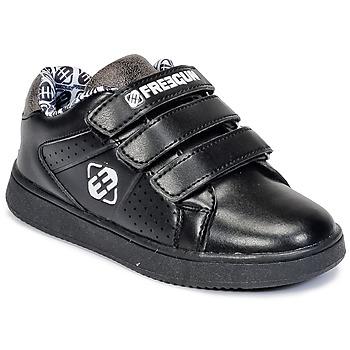 Skor Barn Sneakers Freegun FG ULSPORT Svart / Vit