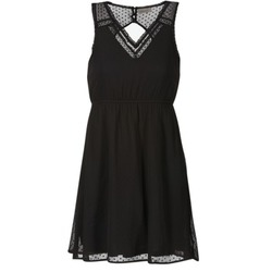 textil Dam Korta klänningar Vero Moda BIANCA Svart