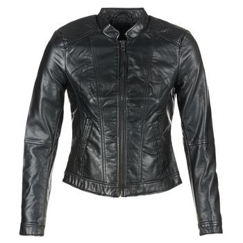 textil Dam Skinnjackor & Jackor i fuskläder Vero Moda QUEEN Svart