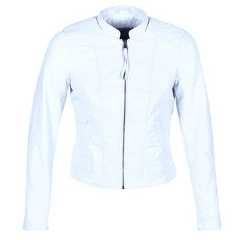 textil Dam Skinnjackor & Jackor i fuskläder Vero Moda QUEEN Blå / Ljus