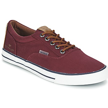 Skor Herr Sneakers Tom Tailor EXIBOU Bordeaux
