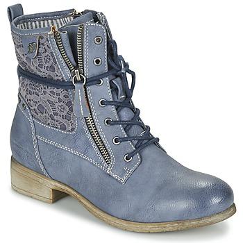 Skor Dam Boots Tom Tailor RELOUNI Blå