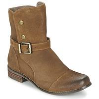 Skor Dam Boots Kdopa  Kamel