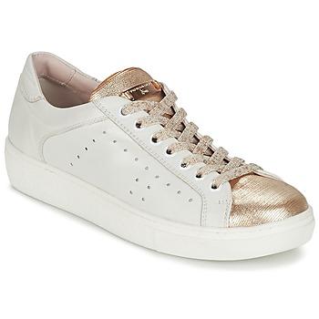 Skor Dam Sneakers Tosca Blu  Vit / Guldfärgad
