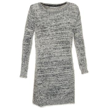 textil Dam Korta klänningar Noisy May ALLY Grå