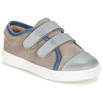 Skor Pojkar Sneakers Citrouille et Compagnie GOUTOU Grå / Mullvadsfärgad / Blå