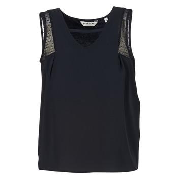 textil Dam Linnen / Ärmlösa T-shirts Naf Naf OPIPA Svart